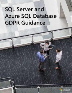 SQL Server and Azure SQL Database GDPR Guidance